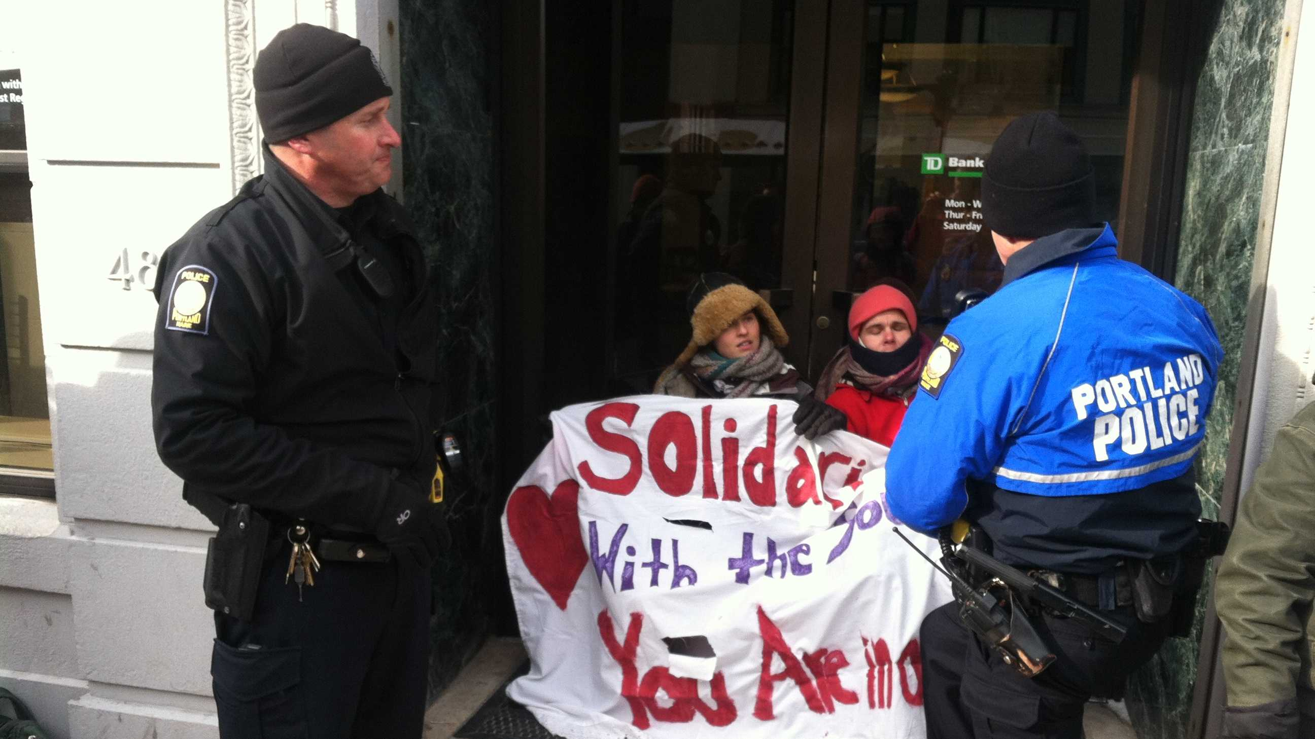 TD Bank Protest Image