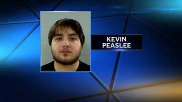 Kevin Peaslee is charged with aggravated assault