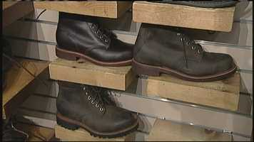 WMTW News 8's Norm Karkos takes a closer look at waterproof shoes. Click here to watch.