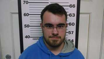 Dylan Thorner is charged in connection with several burglaries in Fryeburg
