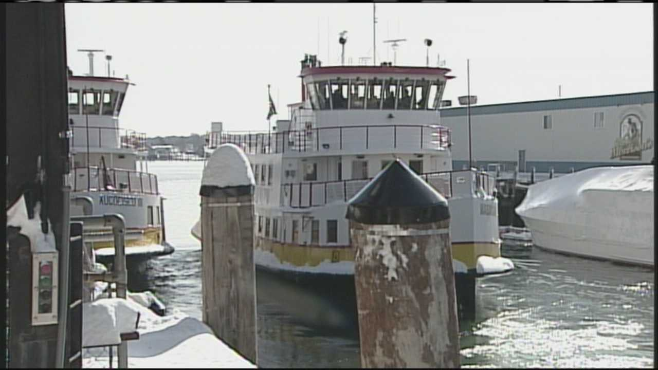 New Casco Bay Lines ferry getting ship shape