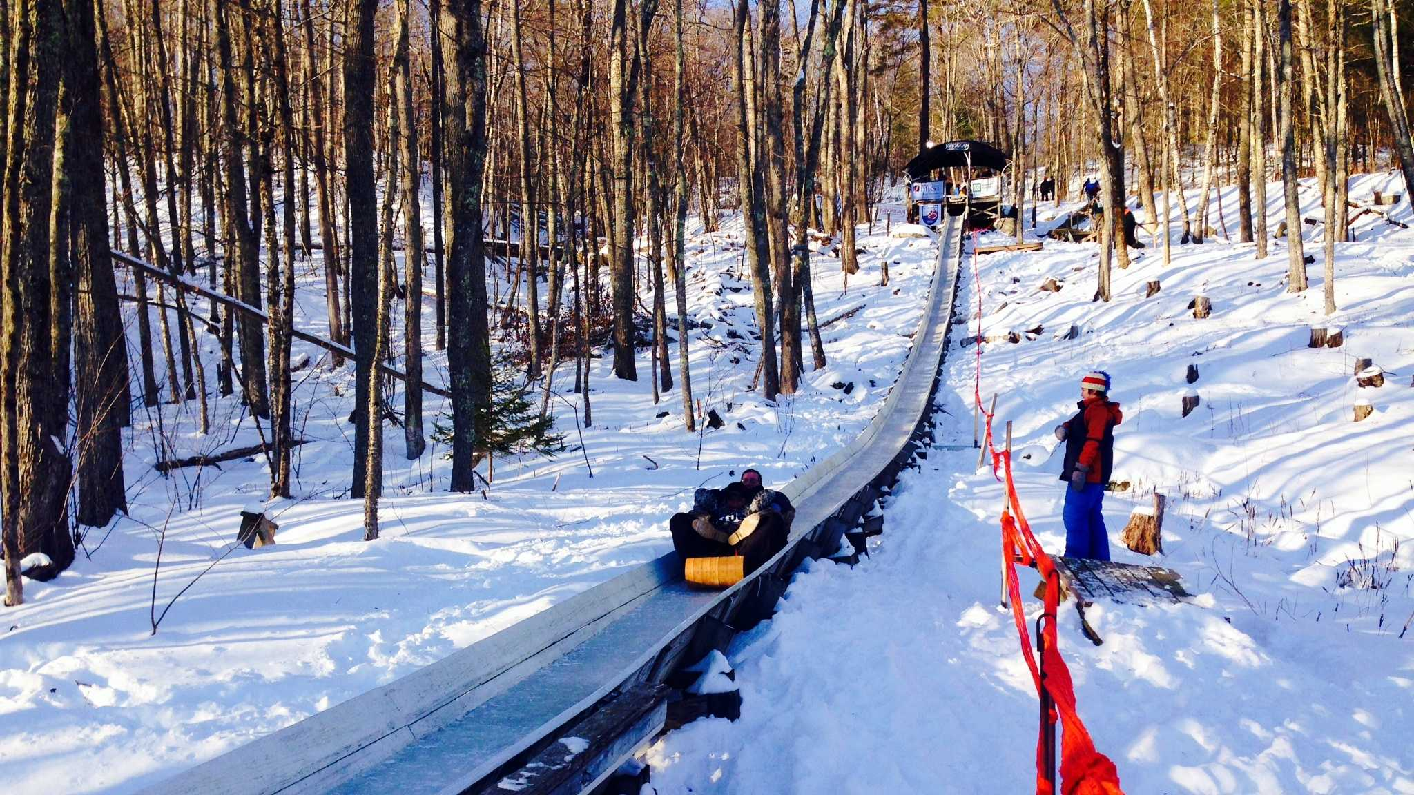 National Toboggan Championships underway in Camden
