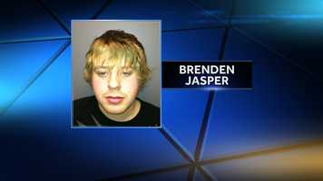 Brendan Jasper is charged with reckless conduct, criminal attempt, criminal mischief and aggravated assault.