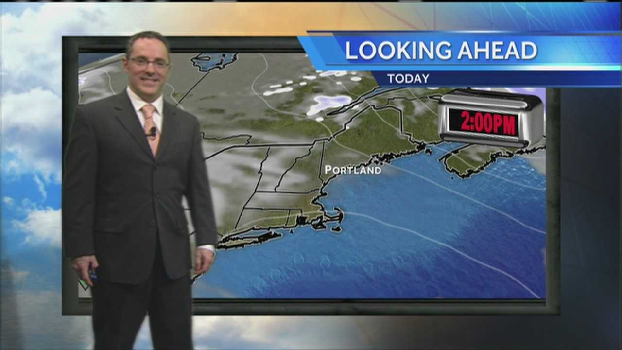 Matt's Thursday Afternoon Weather Forecast