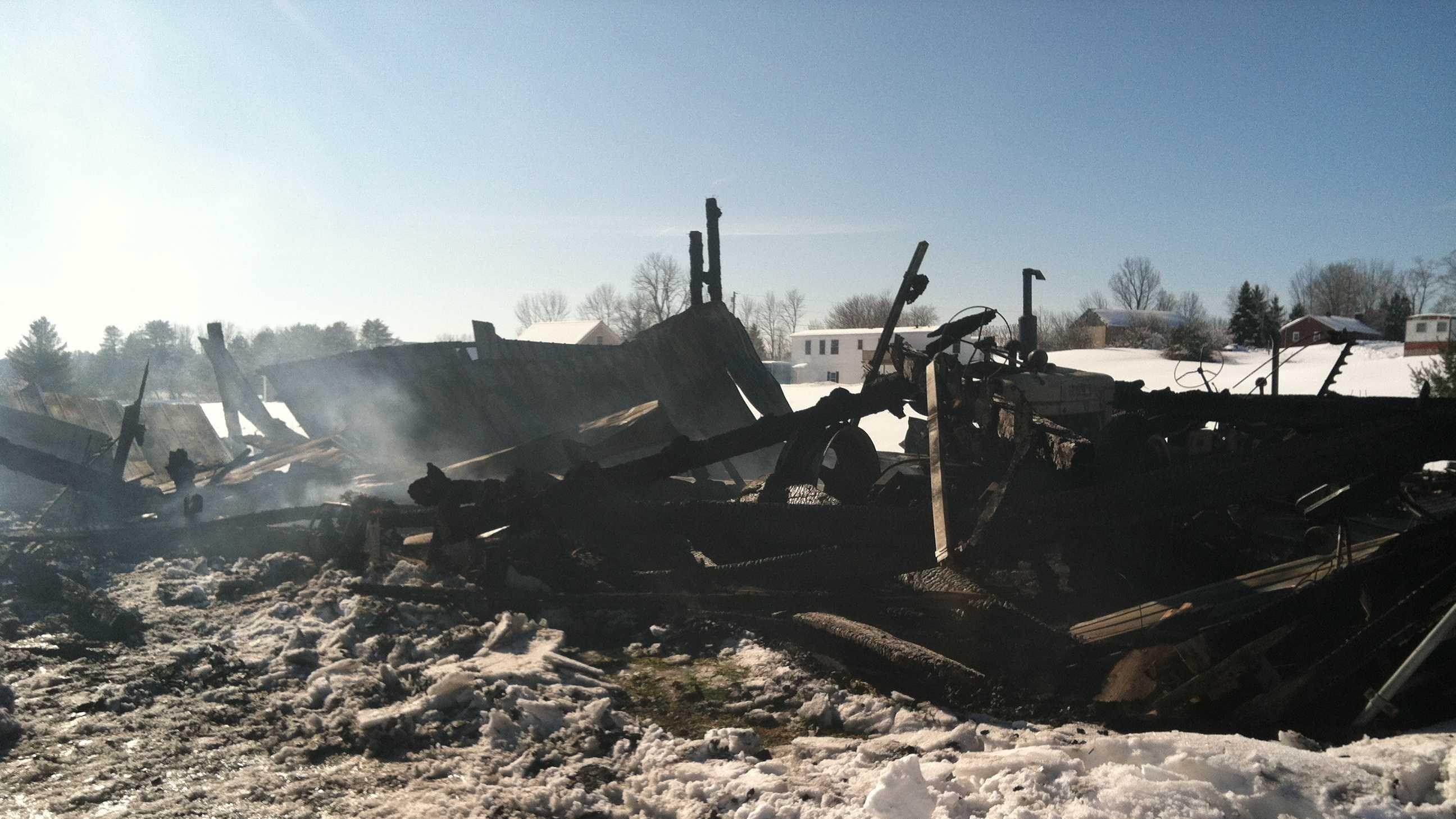 Windham Barn Fire
