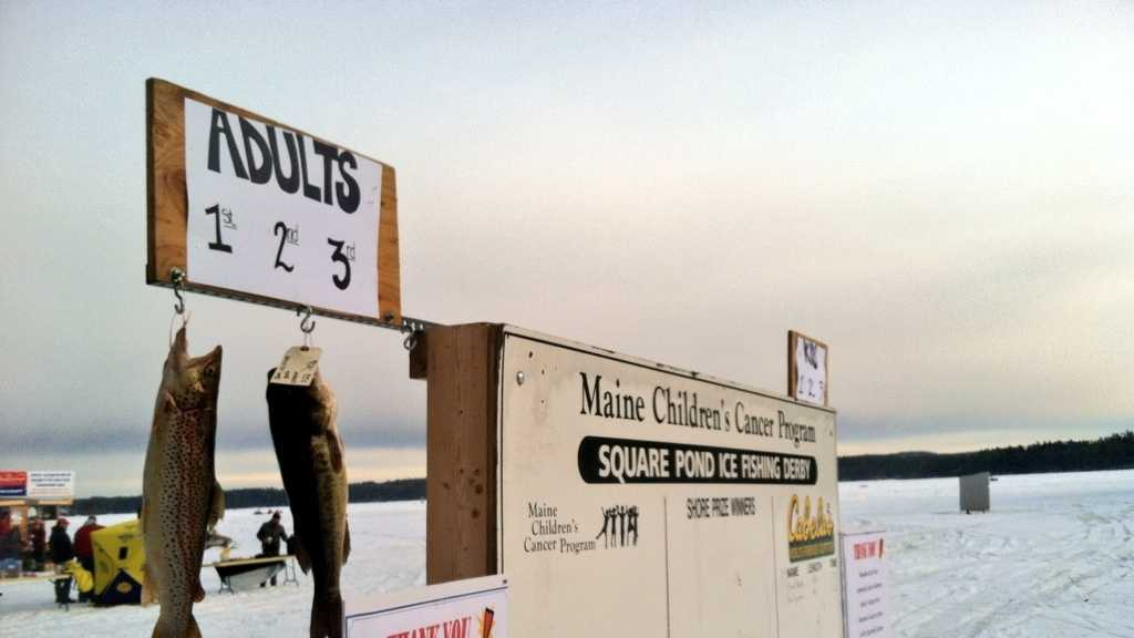 Square Pond Ice Fishing Derby