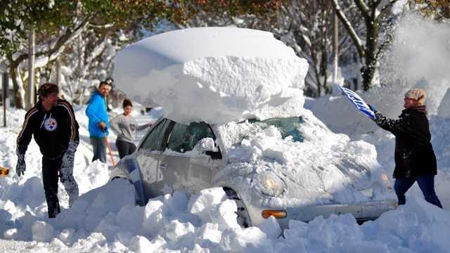 Snowy Cities - Buffalo
