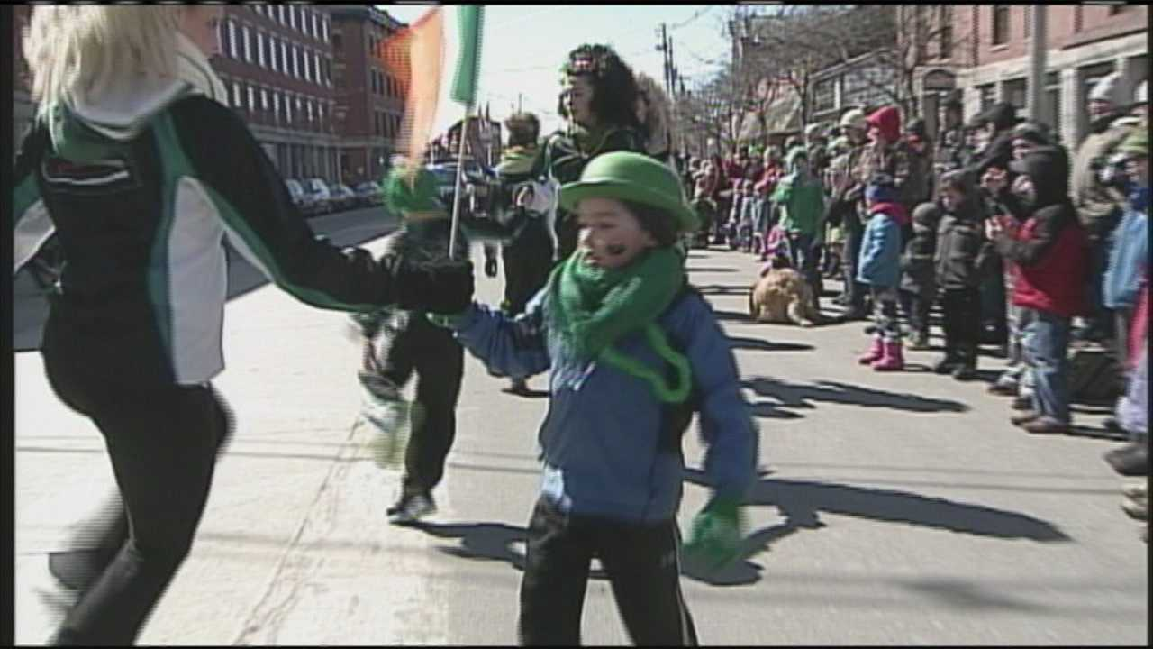 img-Portland goes green for St Patrick s Day Parade