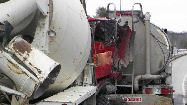 Turnpike rear-end crash