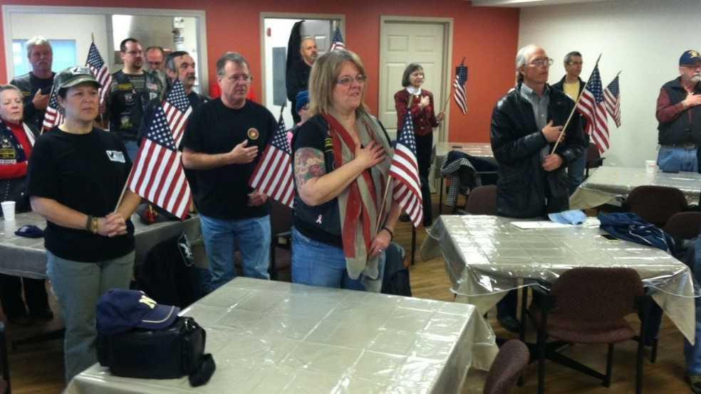 Veterans welcome