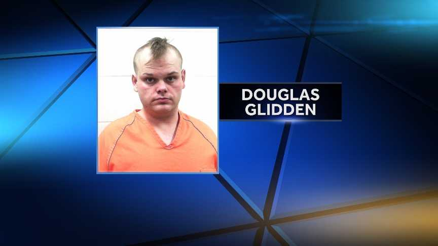 Douglas Glidden is charged with theft by unauthorized taking, operating under the influence and marijuana posession