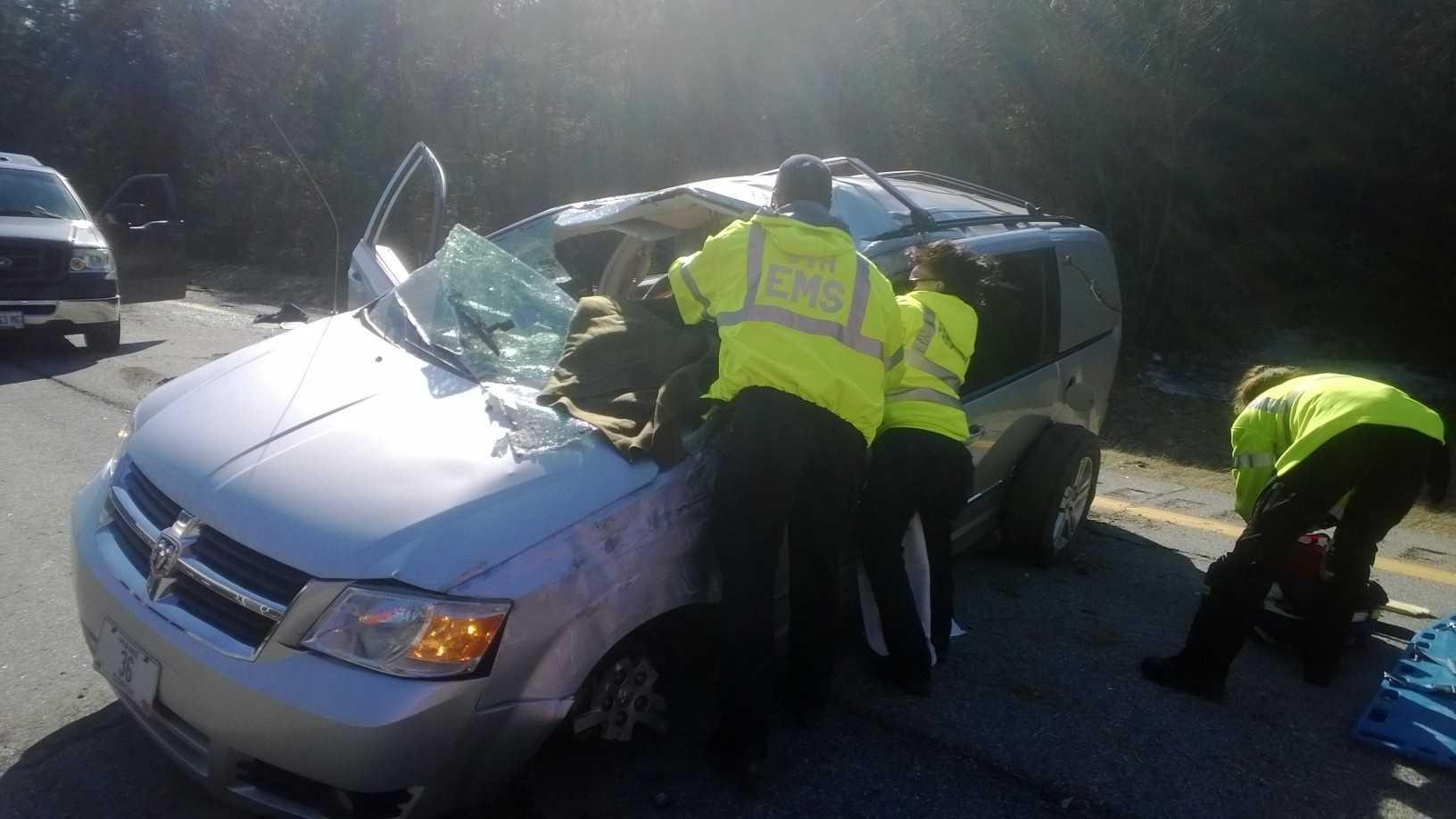 Pittsfield Hearse Wreck