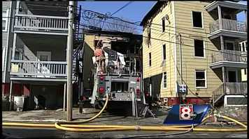 The third fire, which caused the most damage at 21-23 Howe Street, was reported just after 4 a.m.