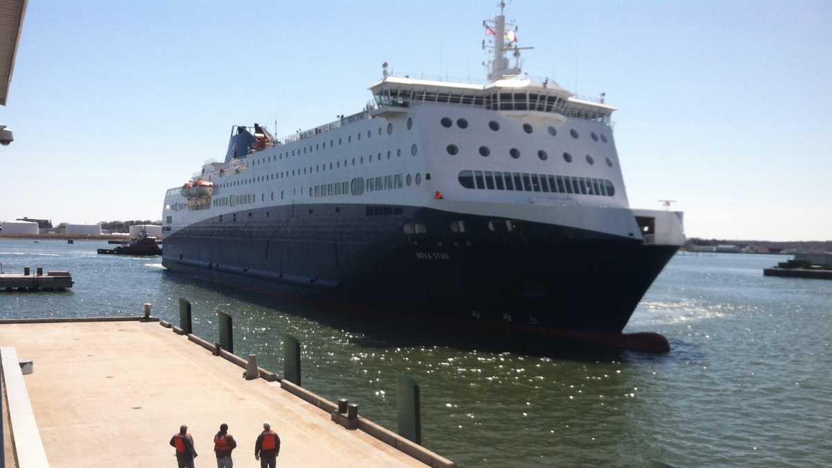 Maine to Nova Scotia ferry arrives in Portland