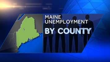 The Maine Department of Labor said unemployment fell to 5.9 percent in March. Click through to see a breakdown of unemployment by county.