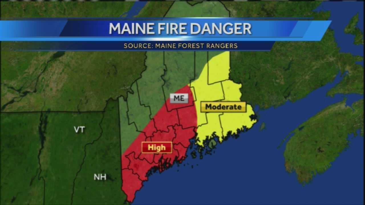 Fire danger rising across the state