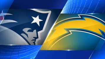 Week 14 - New England Patriots at San Diego Chargers - Dec. 7, 8:30 p.m. NBC