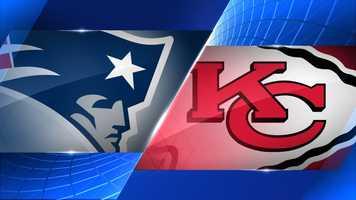 Week 4 - New England Patriots at Kansas City Chiefs - Sept. 29, 8:30 p.m. NBC