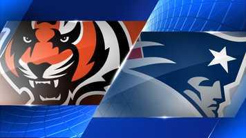 Week 5 - Cincinnati Bengals at New England Patriots - Oct. 5, 8:30 p.m. ESPN