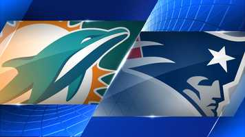 Week 15 - Miami Dolphins at New England Patriots - Dec. 14, 1 p.m. CBS