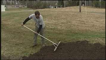 WMTW News 8's Norm Karkos has tips on how to reseed your lawn after the tough winter. Click here to watch.