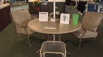 WMTW News 8's Norm Karkos talks about patio furniture. Click here to watch.