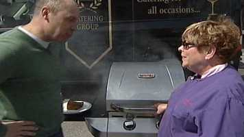 WMTW News 8's Norm Karkos talks about why it is important to keep the grill cover closed. Click here to watch.