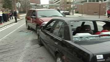 The crash involved two cars, with a fatality and injuries.