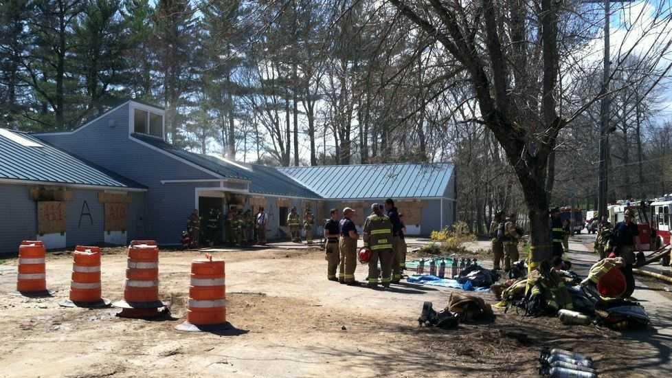 Controlled burn at Amenity Manor