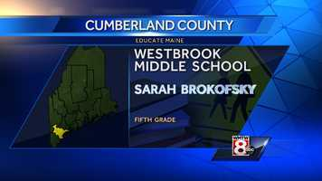 Sarah Brokofsky teaches fifth grade at Westbrook Middle School in Westbrook.