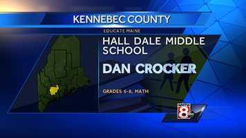 Dan Crocker teaches Math to grades 6-8 at Hall Dale Middle School in Farmingdale.