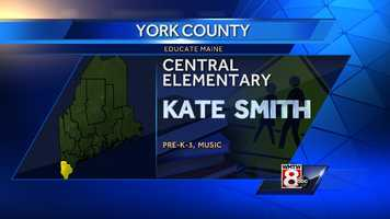 Kate Smith teaches pre-k and music at Central Elementary, MSAD 35, South Berwick.