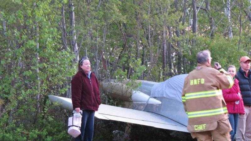 Harpswell emergency landing