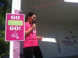 WMTW News 8's Meghan Torjussen was the host of this year's Girls on the Run 5K at the Cumberland Fairgrounds.