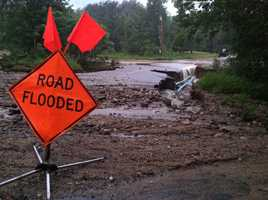 Rumford Rd Closed
