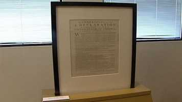 A rare copy of the Declaration of Independence is on display in Portland. Click through to learn more about the document.