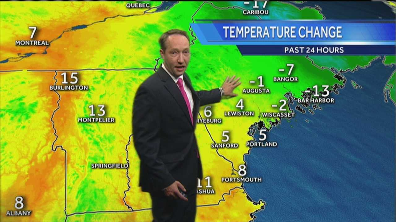 Paul's Saturday evening forecast