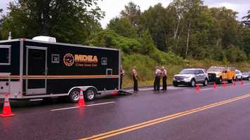 The Sheriff's Department said a detective pulled over Jason Fowler Monday evening on Route 4 in Avon.