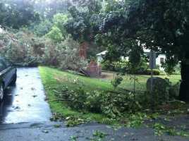 Damage in York