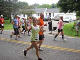 WMTW News 8's Megan Torjussen ran in the Beach to Beacon on Saturday.