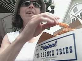 Eat some pier fries in Old Orchard Beach