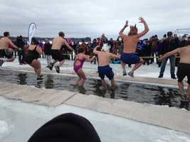 If you are daring take part in a polar plunge