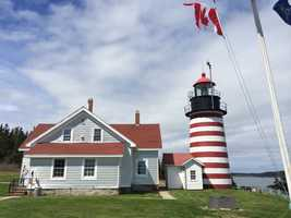 Visit West Quoddy head, eastern most point in the U.S.