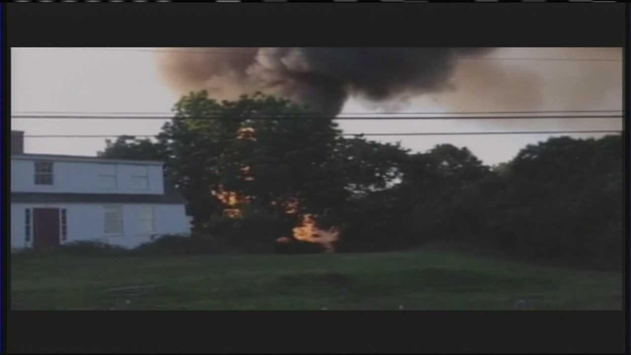Kittery Barn Fire