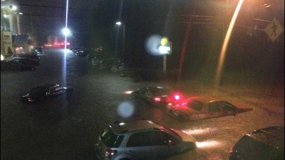 Portland flooding