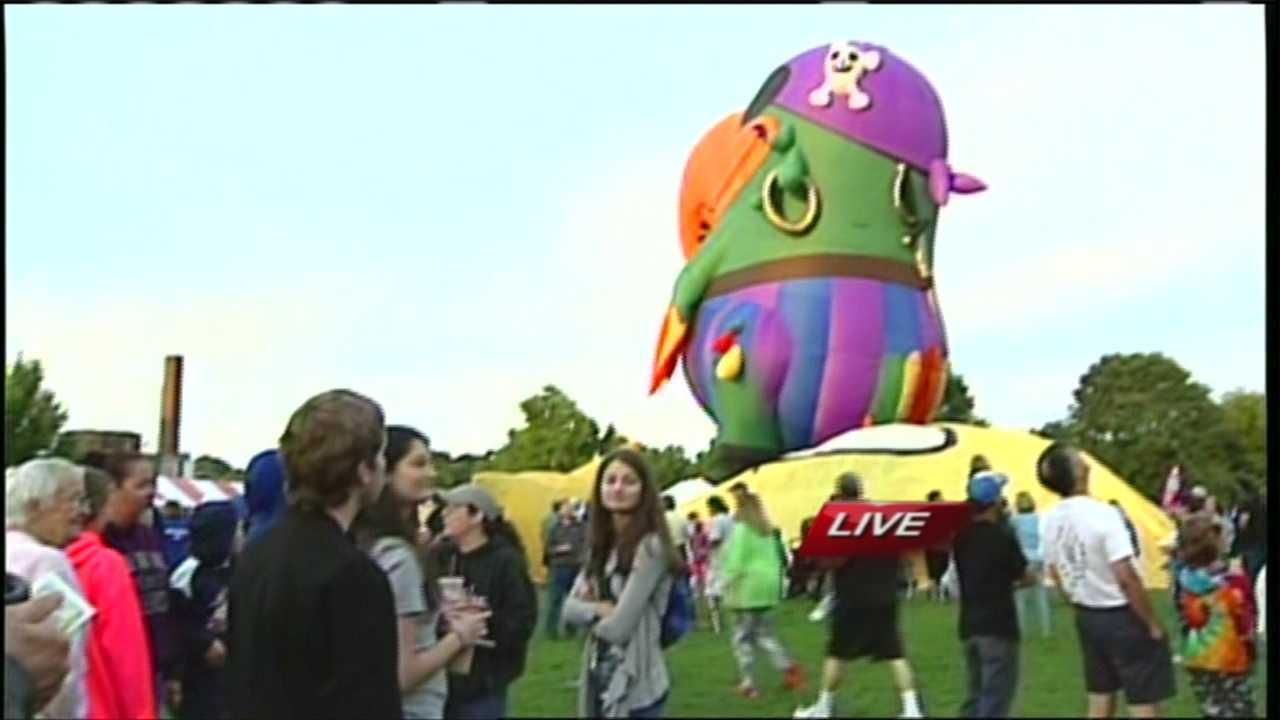Great Falls Balloon Festival Saturday Take Off