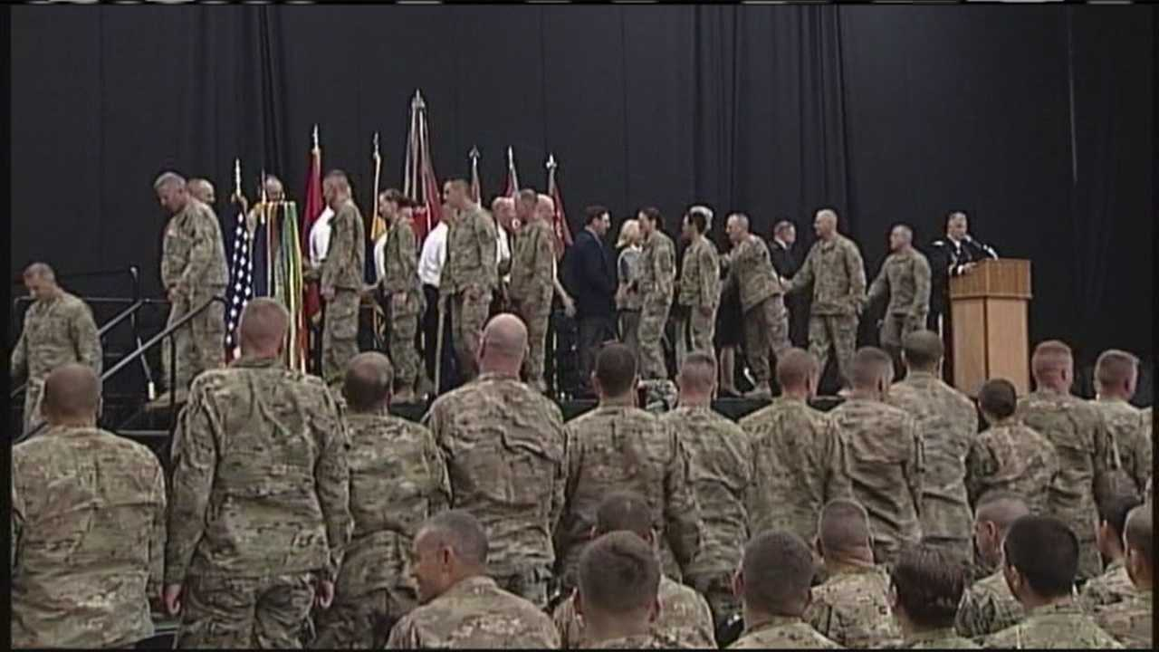 img-Maine National Guard Battalion welcomed home from Afghanistan