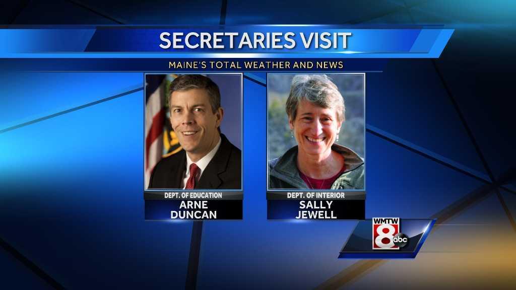 Secretaries visit
