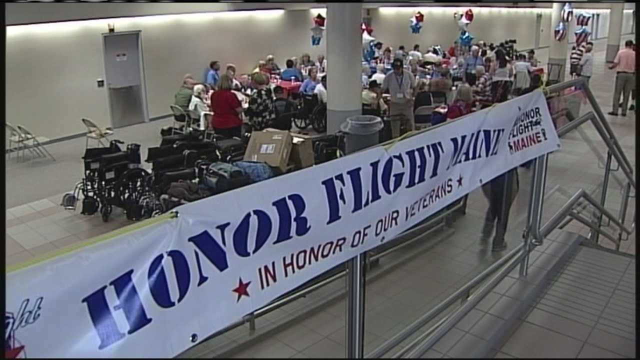 Honor Flight Maine takes off