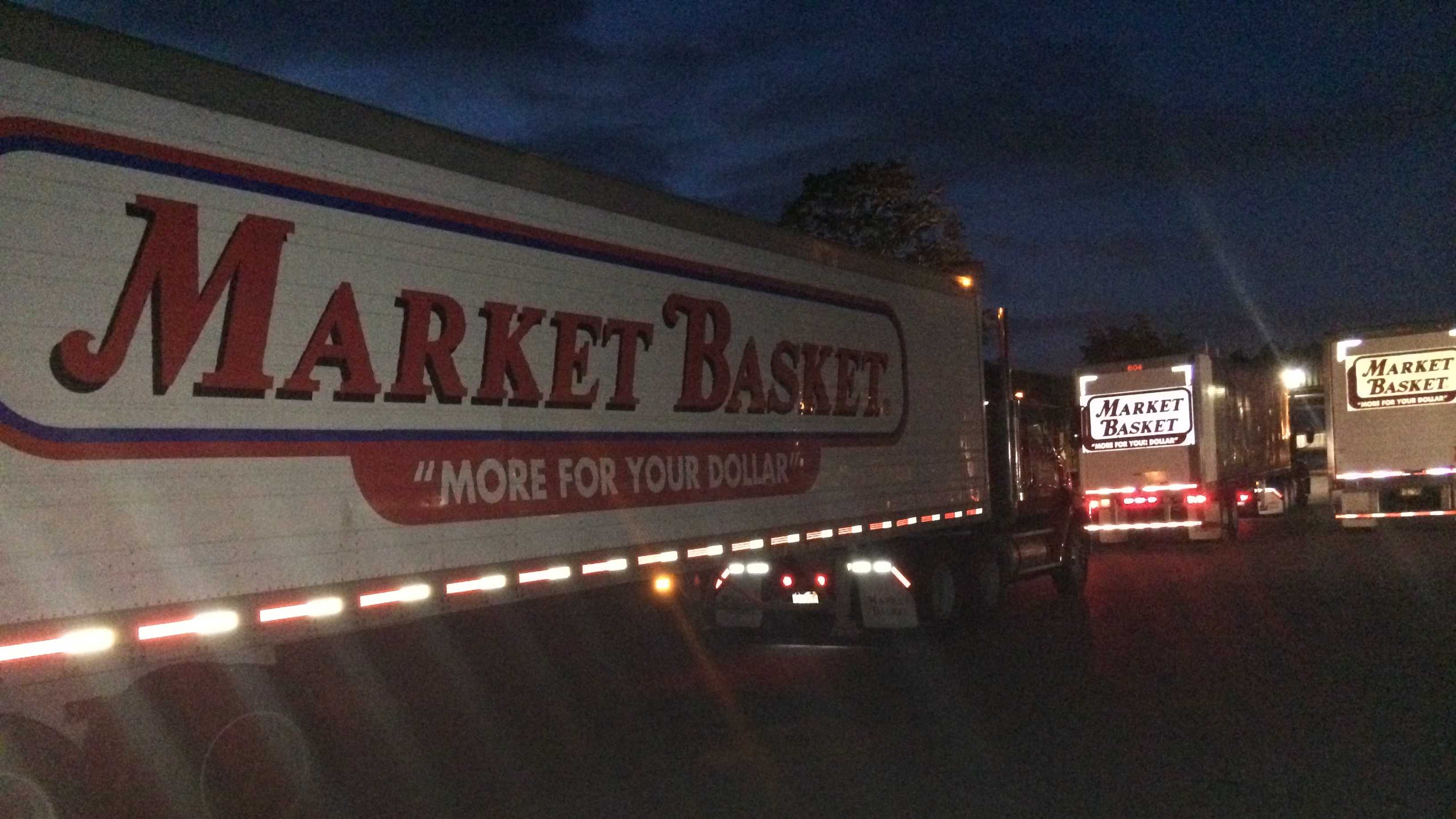 Market Basket trucks